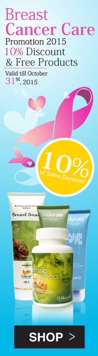 Breast Cancer Care Promotion 2015 10% Discount & Free Products & 10% of Sale Donated.